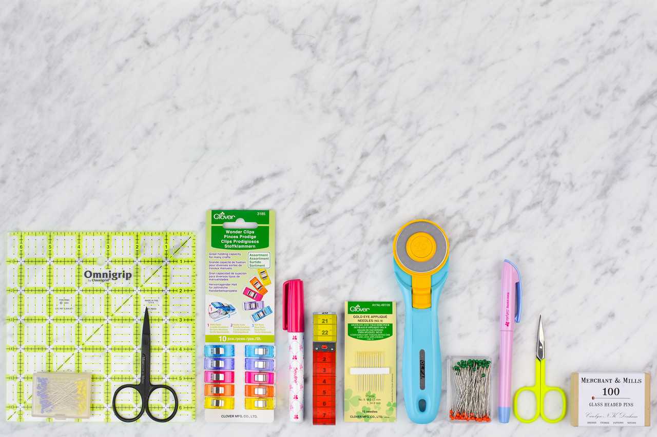 TOOLS & NOTIONS.  We won't stock anything we wouldn't use ourselves so everything comes with our personal recommendation.