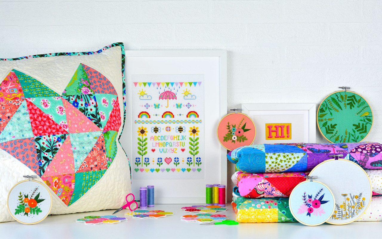 <!--COMMENT-->LEARN A NEW CRAFT WITH OUR KITS