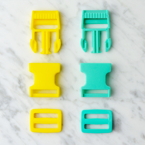 25mm Plastic Clasp & Buckle