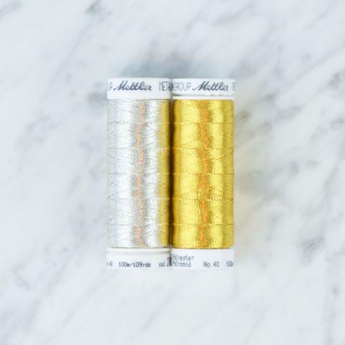 Metallic 40 Thread: 100m