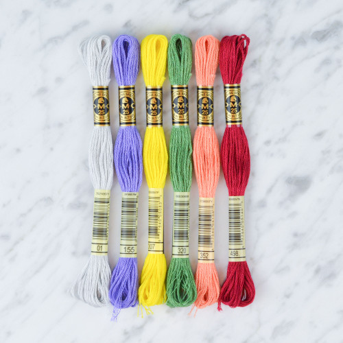 Stranded Cotton Thread (Colours 1-499)