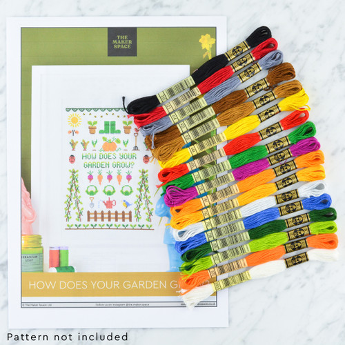 GARDEN Sampler Thread Pack