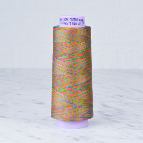 Silk Finish Cotton 50 Multi Thread: 1372m