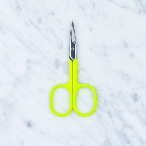 Neon Embroidery Scissors: Yellow