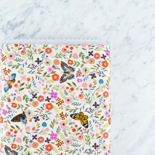 Aviary: Butterflies in Cream