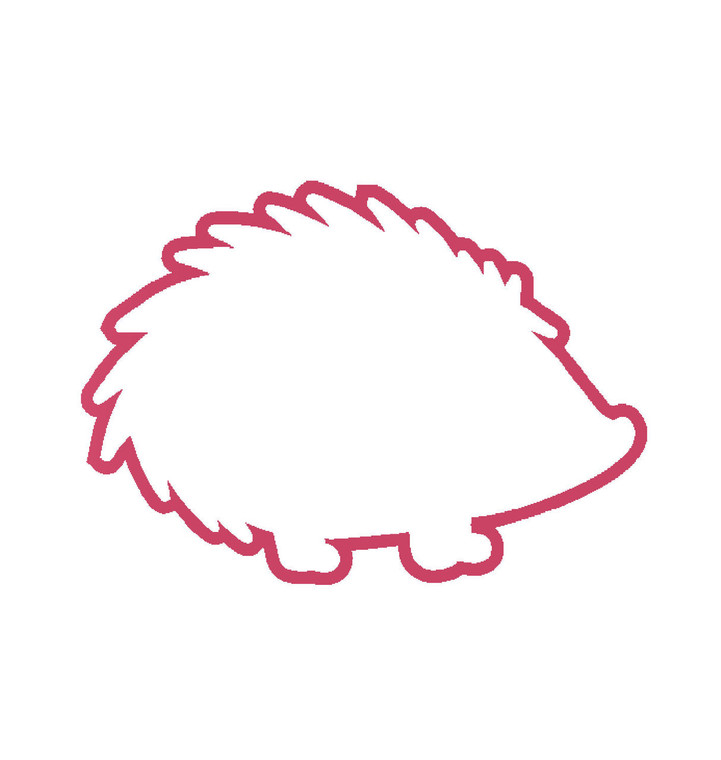 Hedgehog Decal for your window