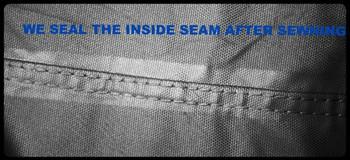 4 Seasons Deluxe Premium Pontoon Boat Cover - 17 - 19 Foot, Gray