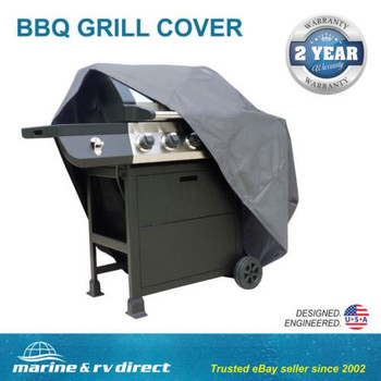 Heavy Duty Waterproof Barbecue Gas Grill Cover Patio Storage Protection 55""