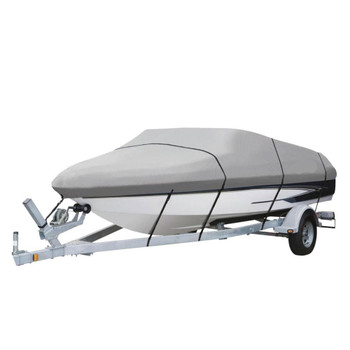 Deluxe Waterproof, Trailerable Boat Cover  Brand 14'-16'  Foot 600 Denier