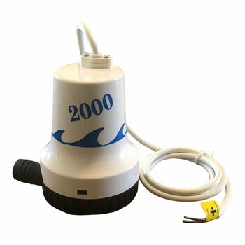 NEW  2000 GPH  Marine Bilge Pump 12 Volt