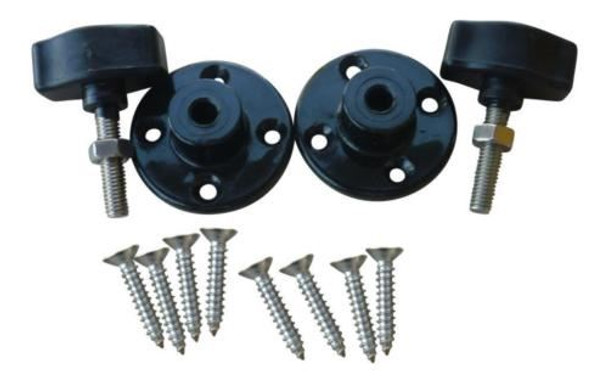 Marine & RV Direct Bimini Top Deluxe Side Mount Kit. Includes 8 Stainless Steel Mounting Screws