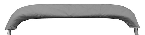 "Pontoon Bimini Top Boat Cover 4 Bow 54"" H 79"" - 84"" W 8 ft. Long Gray"