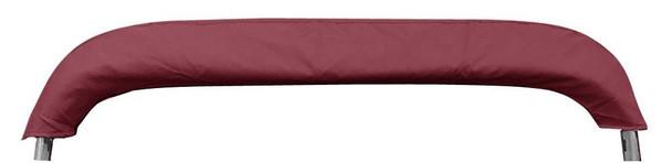 "New Pontoon Bimini Top Boat Cover 4 Bow 54"" H 91"" - 96"" W 8 ft. Long Burgundy"
