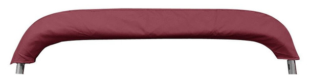 "Pontoon Bimini Top Boat Cover 4 Bow 54"" H 79"" - 84"" W 8 ft. Long Burgundy"