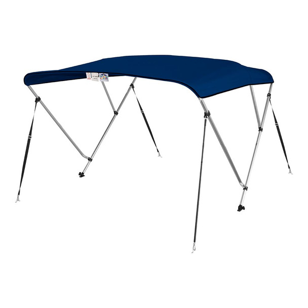 "New 4 Seasons Brand Boat Bimini Top Cover 3 Bow 54""H x 79""-84"" W Navy Blue"