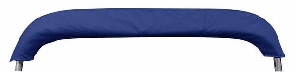 "Pontoon Bimini Top Boat Cover 4 Bow 54"" H 67"" - 72"" W 8 ft Long Navy Blue"