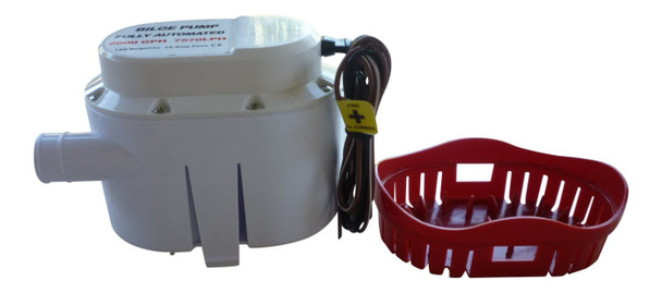 Marine & RV Direct Automatic 2000 GPH Marine Bilge Pump 12 Volt with Built in Float Switch