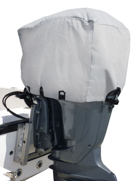 Marine & RV Direct Outboard Engine Cover Deluxe 600 Denier Waterproof 140 - 150 HP
