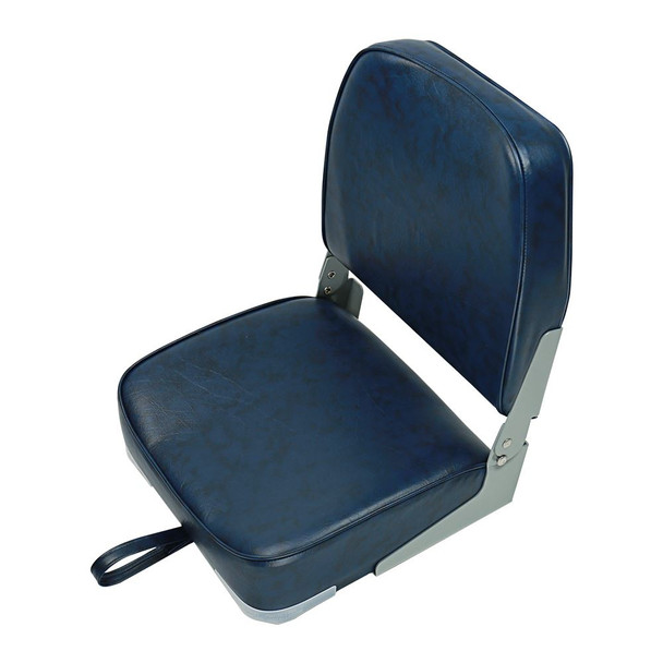 Marine & RV Direct Deluxe Folding Marine Boat Seats in Blue (Set of 2)