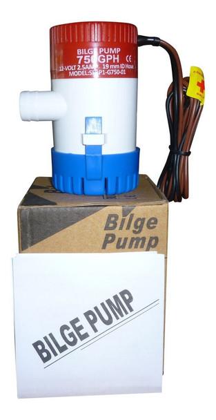 SEAFLO 12V 750 GPH Submersible Bilge Pump