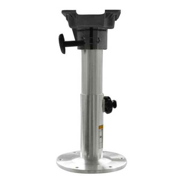 "Marine & RV Direct Adjustable All Aluminum Marine Swival Boat Seat Pedestal 12""-18"" High"