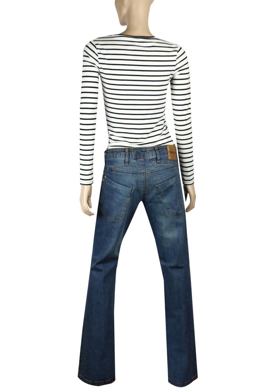 94bf6034239 Clove Blue Stone-wash Culture Boot Cut Low Rise Jeans Plus Size 14 - 24