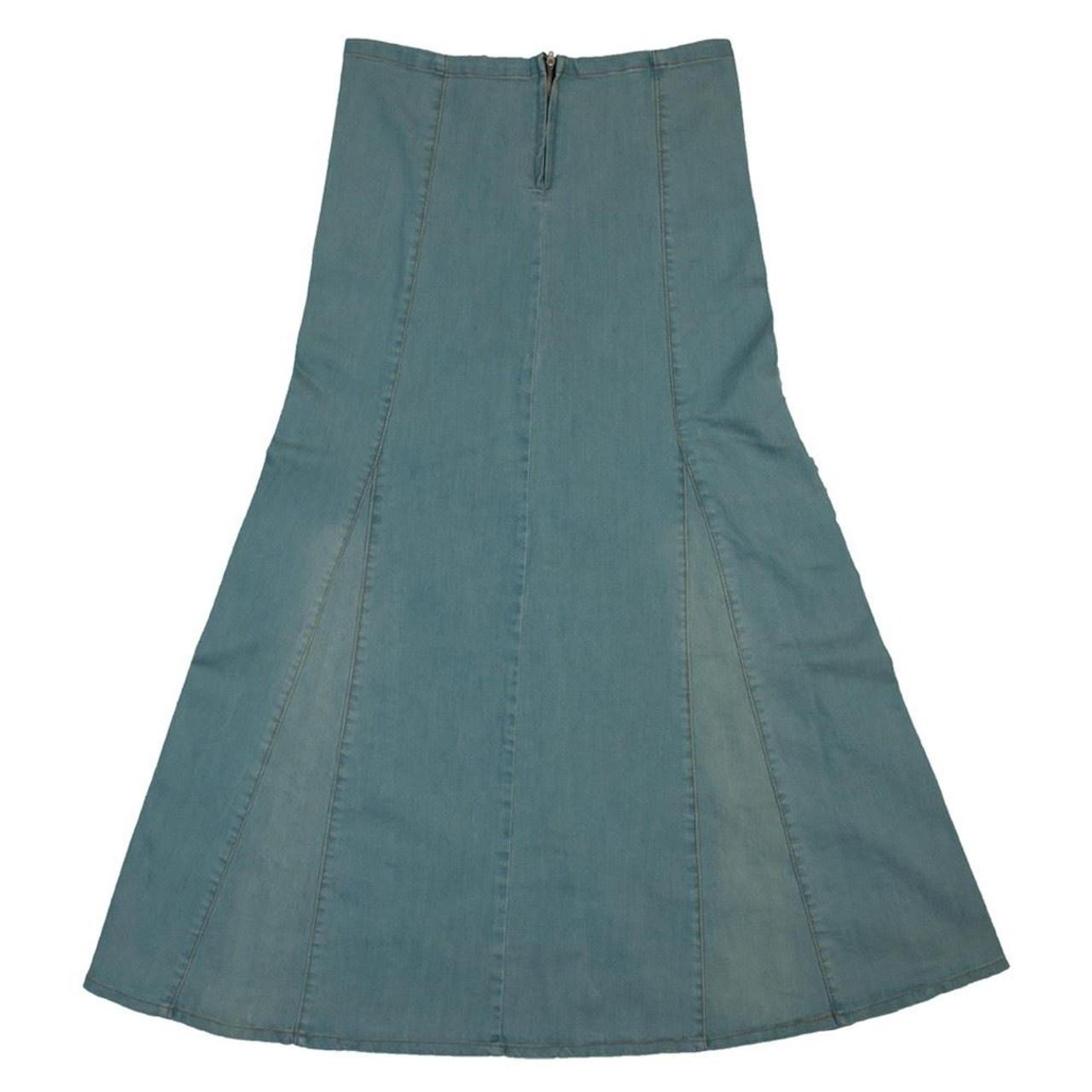 77fadeca3a2 Clove Womens Ice Blue Denim Skirt