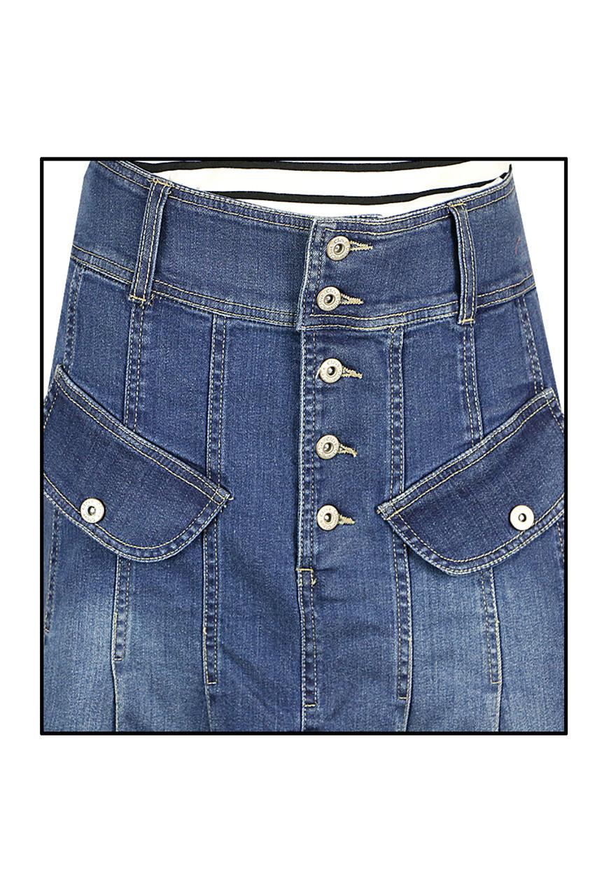 f6fdd4bc Shop Latest Full Denim Skirts Online | Clove Jeans Skirts UK