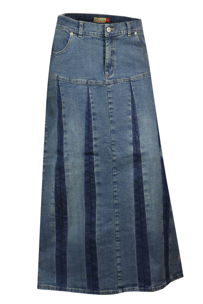 619960c1 Plus Size Fashionable Women's Denim Skirts Online