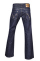 Cloves Womens Blue Trendy Slim Boot Cut Jeans Plus Size 12 - 24