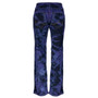Clove Low Rise Sliming Boot Cut, Black Purple Tie Dye Womens Jeans, sizes 10 to 24