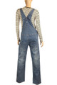 Extra Comfort Ladies Women Maternity Denim Dungarees Mum 2 Be