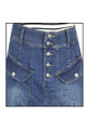 women's regular denim full skirts