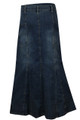 plus size denim skirts online