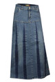 Buy plus size fashionable women's denim skirts online from jeans oasis.