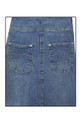 Clove Women's Pleated Denim Skirt From Jeans oasis.