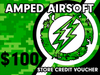 Amped Airsoft Gift Card! | $100.00