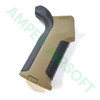 Amoeba - Pro Beavertail Backstrap M4 Grip (Black/Dark Earth) Right Side
