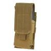 Condor - Closed Top Single M4 Mag Pouch (Coyote Brown)