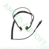 Code Red Headsets - Battle Zero-K Tactical Bone Conduction Headset (Kenwood Radios with a two pin connector) All Connected