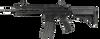 G&G - Combat Machine CM16 Raider 2.0 Short (Black) Wired to Deans