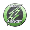 "Amped Patch - 3"" Logo (Emrboidered)"