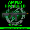 "Amped Custom HPA Rifle Tippmann Commando Series CQB 10.5"" Rifle 