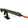 Amped Custom HPA Rifle Krytac MKII-M SPR | Flat Dark Earth Right Profile