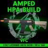 Amped Custom HPA Rifle VFC COLT MK18 MOD1 VR16 Airsoft Rifle   Tan