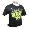 Amped Airsoft Small T-Shirt Green Splatter