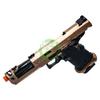 ECHO 1 TAP Gas Blow Back Pistol | Bronze open