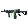 G&G Combat Machine CM16 LMG Stealth no bipod