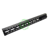 "ZCI 15"" Aluminum CNC Keymod Handguard for M4   Black"