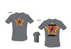 Amped Custom - Red Star T-Shirt